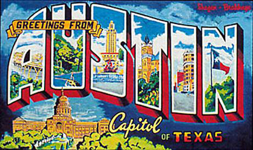 Real life going to sxsw modern kiddo for Austin mural tour