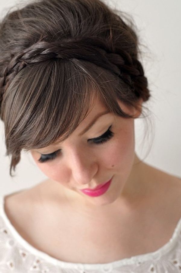 Prom Hairstyles with Braids for Long Hair