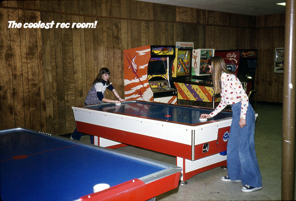 Via Paul W I Remember Our Huge Air Hockey Table